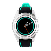 no.1 g6 green heartrate monitor pedometer psg bracelet sport bluetooth smartwatch