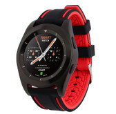 no.1 g6 red heartrate monitor pedometer psg bracelet sport bluetooth smartwatch