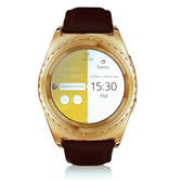 no.1 g4 gold heartrate monitor tf card sim card bluetooth android smartwatch