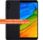 """xiaomi redmi note 5 black 3gb 32gb octa core 5.99"""" dual sim android lte smartphone"""
