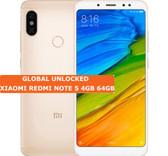 """xiaomi redmi note 5 gold 4gb 64gb octa core 5.99"""" dual sim android lte smartphone"""