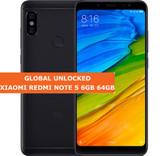 """xiaomi redmi note 5 black 6gb 64gb octa core 5.99"""" dual sim android lte smartphone"""