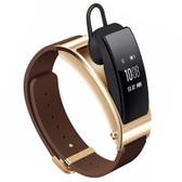 huawei talkband b3 brown bluetooth android ios fitness tracker pedo smart bracelet