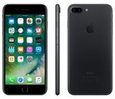 "apple iphone 7 plus black 3gb 128gb quad core 5.5"" 12mp ios 12 4g lte smartphone"