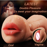 realistic oral 3d deep throat artificial big vagina male pussy sex toys for men