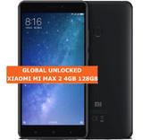 """xiaomi mi max 2 black 4gb 128gb octa core 6.44"""" screen android 7.1 lte smartphone"""