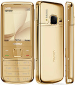 "nokia 6700 classic unlocked gold 5mp camera 2.2"" screen gps 3g mobile phone"