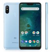 "xiaomi mi a2 lite 4gb 64gb blue octa core 5.84"" dual sim android one smartphone"
