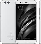 """xiaomi mi6 white octa core 6gb 128gb 5.15"""" screen android 7.0 4g lte smartphone"""