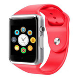 a1 bluetooth red smart clock camera phone android ios huawei wrist smartwatch