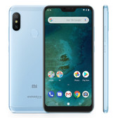 "xiaomi mi a2 lite 3gb 32gb blue octa core 5.84"" dual sim android one smartphone"