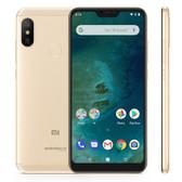 "xiaomi mi a2 lite 3gb 32gb gold octa core 5.84"" dual sim android one smartphone"