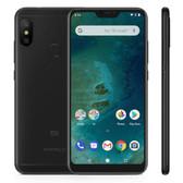"xiaomi mi a2 lite 3gb 32gb black octa core 5.84"" dual sim android one smartphone"