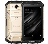 "doogee s60 6gb 64gb gold octa core 5.2"" 21mp dual sim android 4g lte smartphone"