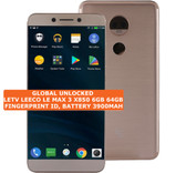 "letv leeco le max 3 x850 6gb 64gb gold quad core 13mp 5.7"" android smartphone 4g"