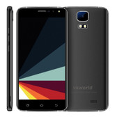 "vkworld s3 8gb black 5.5"" 2.5d auo android 7.0 mtk6580a quad core fm gps dual sim"