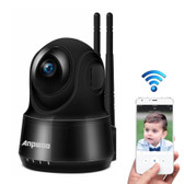 anpwoo guardian 2.0mp 1080p black cmos wifi ip camera motion detection night vision