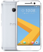 "htc 10 4gb 32gb silver 12mp camera 5.2"" screen android 6.0 4g lte smartphone"