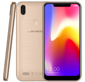 "leagoo m11 2gb 16gb gold rear fingerprint dual camera 5.18"" ips lte android mobile"