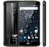 "homtom zoji z9 6gb 64gb green waterproof shockproof face id 5.7"" android lte Otg"