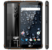 "homtom zoji z9 6gb 64gb orange waterproof shockproof face id 5.7"" android lte Otg"