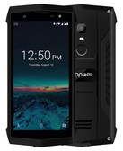 poptel p8 ip68 2gb 16gb black Fingerprint waterproof dustproof 8.0 mp android lte
