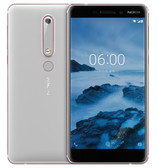 nokia 6 second generation ta-1054 white 4gb 64gb 16mp face detection android 4g