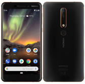 nokia 6 second generation ta-1054 black 4gb 64gb 16mp face detection android 4g