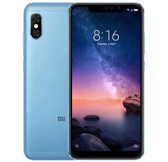 "xiaomi redmi note 6 pro 4gb 32gb blue 6.2"" dual rear cameras android smartphone"