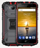 "ulefone armor 2 6gb 64gb red fingerprint id 16mp led shockproof 5.0"" android 4g"