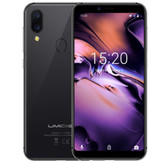 "umidigi a3 mtk6739 2gb 16gb grey dual cameras fingerprint id 5.5"" hd android lte"