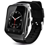 s8 plus mtk6580 black bluetooth gps wifi waterproof sim card android os 3g watch