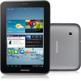 "samsung galaxy tab 2 7.0 p3100 unlocked 8gb black-silver 3mp 7"" android tablet"