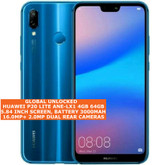 "huawei p20 lite ane-lx1 global version 4gb 64gb 16mp 5.84"" android lte 4g blue"