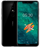 "nokia x5 3gb 32gb black camera 13.0mp+5.0mp fingerprint octa core 5.86"" android 8 lte"
