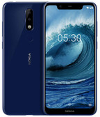"nokia x5 3gb 32gb blue camera 13.0mp+5.0mp fingerprint octa core 5.86"" android 8 lte"