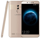 leagoo t8s 4gb 32gb gold mt6750t octa core 13mp fingerprint android smartphone