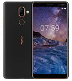 "nokia 7 plus 6gb 64gb black 13mp fingerprint octa core 6.0"" android 8 smartphone"