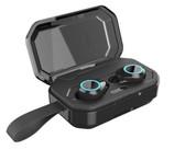 tws bluetooth earphone 5.0 stereo hi-fi sound touch waterproof wireless earbuds