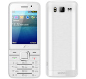 servo v9500 4 sim cards white camera gprs bluetooth 2.8 russian keyboard 2g cell phone
