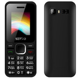 servo v8210 mtk black dual sim camera fm radio 1.77 inch russian keyboard cell phone