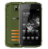 servo h6 green quad core waterproof 5.0mp camera 4.5 inch rugged android smartphone