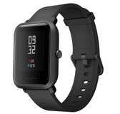 "xiaomi huami amazfit bip global black waterproof gps heart rate 1.28"" hd smart watch"