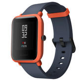 "xiaomi huami amazfit bip global orange waterproof gps heart rate 1.28"" hd smart watch"
