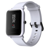 "xiaomi huami amazfit bip global white waterproof gps heart rate 1.28"" hd smart watch"