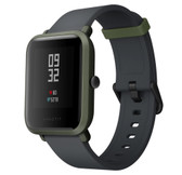 "xiaomi huami amazfit bip global green waterproof gps heart rate 1.28"" hd smart watch"