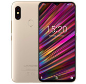 "umidigi f1 4gb 128gb gold octa core 16mp Frigerprint 6.3"" waterdrop android 9 smartphone"