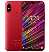 "umidigi f1 4gb 128gb red octa core 16mp Frigerprint 6.3"" waterdrop android 9 smartphone"