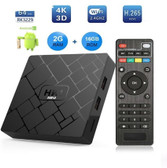 transpeed rk3229 2gb 16gb wifi mouse keyboard support 4k hd android smart tv box