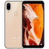 "umidigi a3 2gb 16gb gold quad core 12.0mp fingerprint id 5.5"" android 8.0 smartphone"